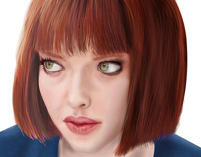 "Amanda Seyfried ""In Time"" (Digital Portrait)"