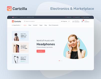 E-Commerce Electronics Website Design
