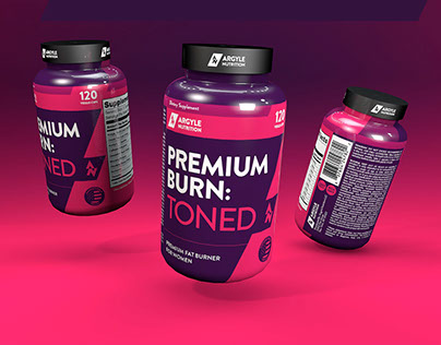 Argyle Nutrition – Supplement Label & Logo Design
