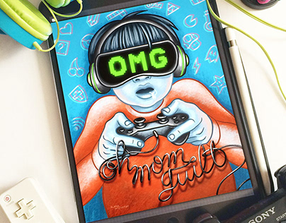 OMG - Oh Mom Guilt - Managing screen time with kids