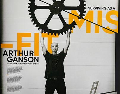 Arthur Ganson artist talk: Static/Motion Poster