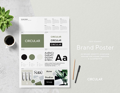 Cult Classic / Brand Poster Template