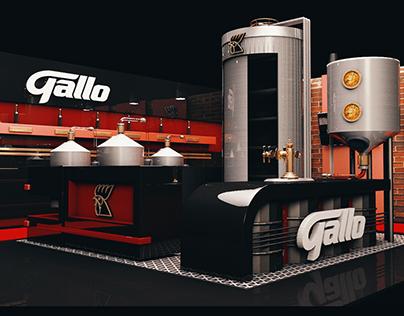 Mini Cervecería - Gallo Stand