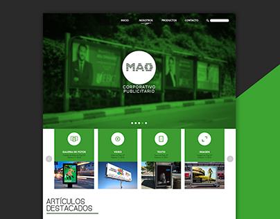 MAO / Web Design
