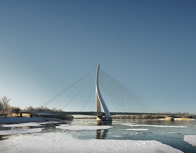 CÉH | Visualization for New Danube Bridge Competition