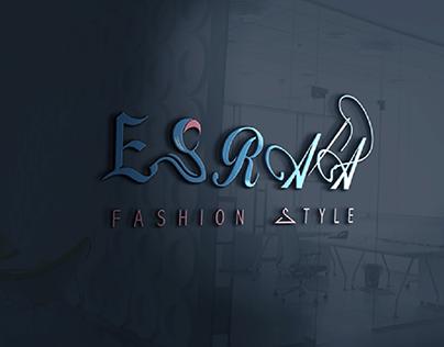 logo design Esraa fashion style