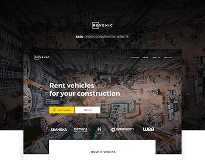 REVEHIC - Conservative Webdesign