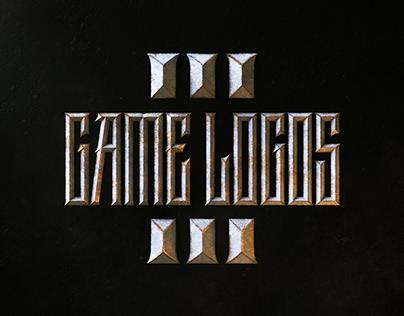 Game Logos VOL.3