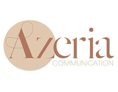 Création Logo - Azeria Com'