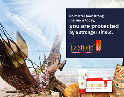 Branding Pitch for La Shield Sunscreen