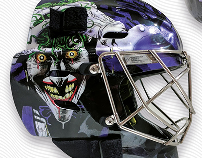 Ice Hockey Goalie Helmet Designs