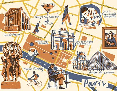Map - Paris