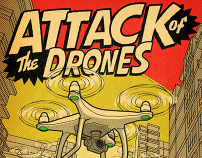 Attack of the Drones | Cover for IBA Global Insight Mag