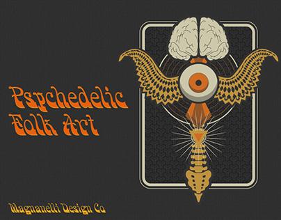 Psychedelic Folk Art