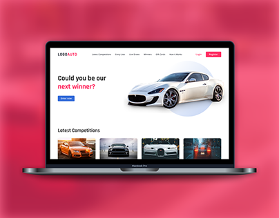 Car Lottery Template | FREE Figma