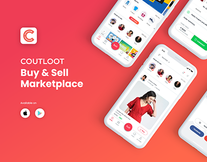 Coutloot Buy & Sell App Redesign