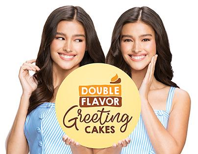 Goldilocks Double Flavor Cakes Campaign