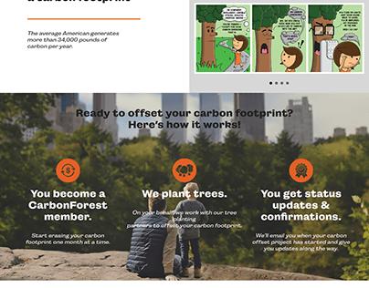 CarbonForest Subscription Service