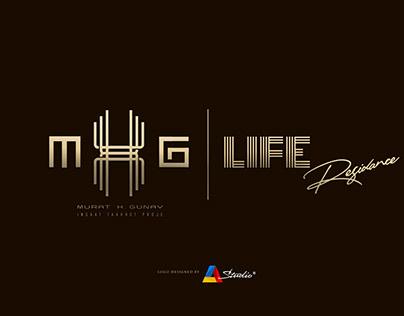 MHG LIFE RESIDENCE Brand & Logo Design
