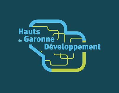 Hauts de Garonne Développement - Brand Design