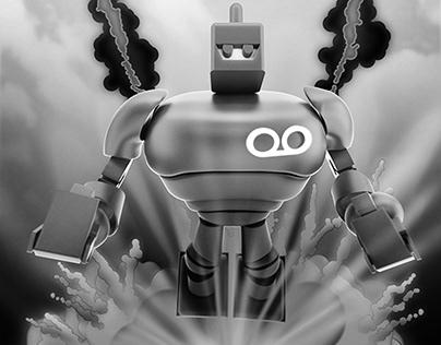 Concepto, Ilustración y animación, Ekoobot - Ekoomedia