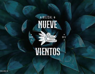 BRANDING // MEZCAL NUEVE VIENTOS
