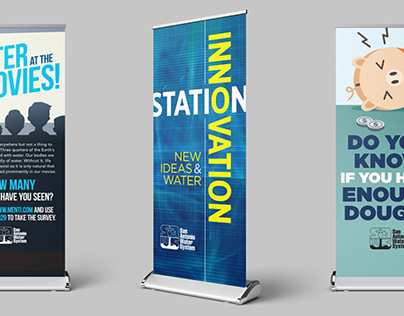 SAWS Confluence Booth Graphics