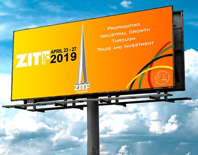 Minimalistic Exhibition Branding Concept [ZITF]