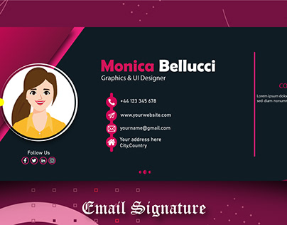 Email Signature & Footer Design