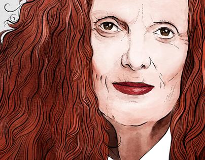 Portrait • Grace Coddington
