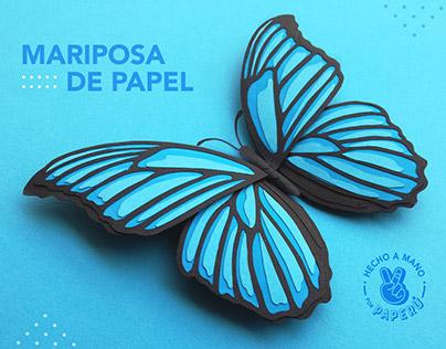 Mariposa Papercraft