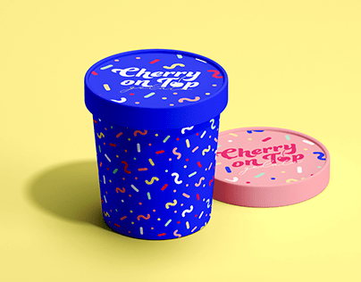 Cherry on Top - Gelato Branding