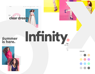 Infinity: Fashion E-Commerce Concept