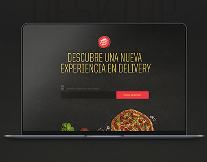 PizzaHut / Delivery Web Design
