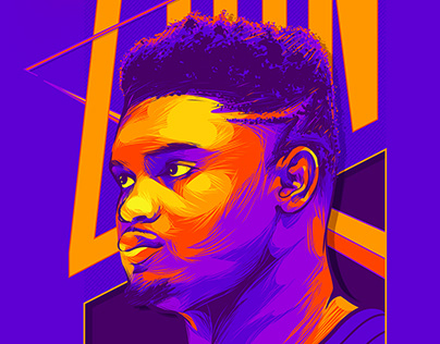 Zion Williamson - Illustration