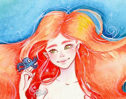 Mar, the mermaid
