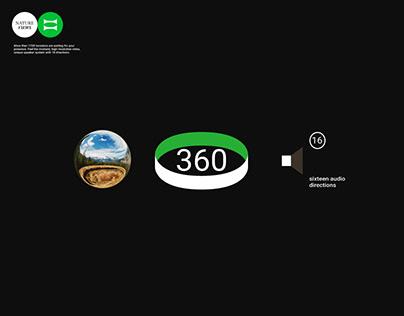 NATURE VIEWS. VR service concept