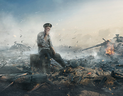 Sailor who survived [matte painting]
