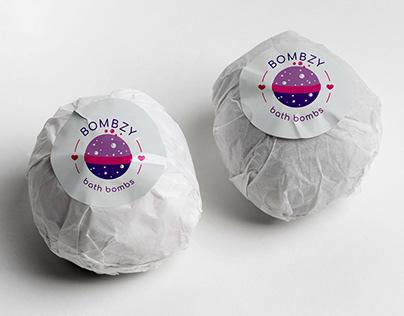 Branding / Logo Design for Bombzy Bath Bombs