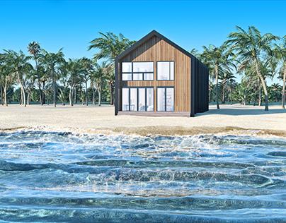 CGI Cinemagraph - Summer Vibes Beach