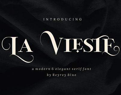 La Vieste - Elegant Serif