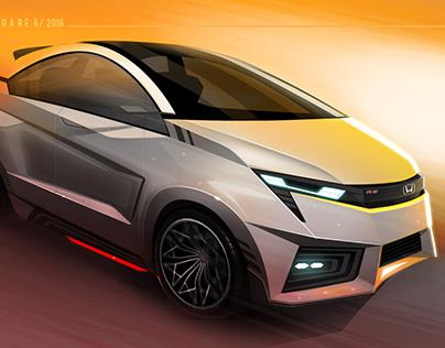 Honda WOW- Small Car Concept