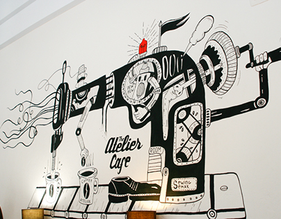 The Atelier. Cafe