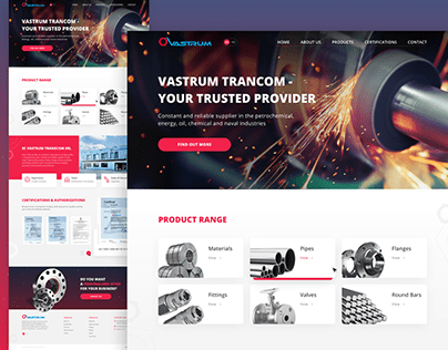 Metallurgical Company web site