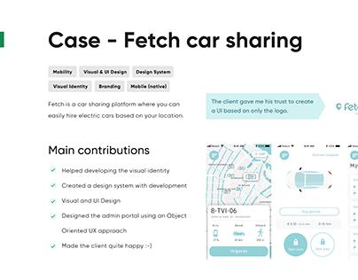 Fetch Car Sharing Platform