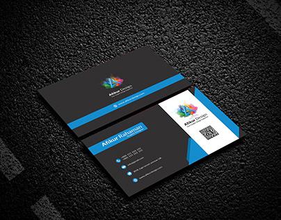 Simple Corporate Business Card Design