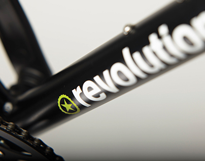 Revolution Rebrand -Bicycles, Clothing & Accessories