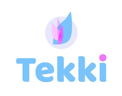 Tekki, identité visuelle et charte graphique