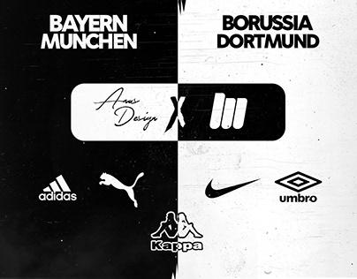 Bayern Munchen / Borussia Dortmund X 5 Brands