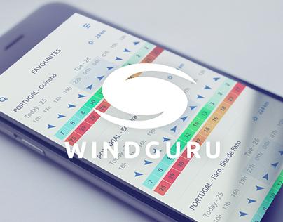 WINDGURU - Concept Redesign